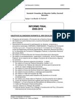 Informe Final 2009-2010
