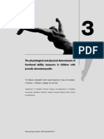 Physiological and physical determinants - Juvenile dermatomyositis