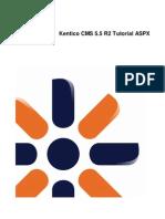 KenticoCMS Tutorial Aspx