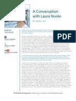 Laura Noren Interview