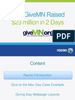 How GiveMN Rasied $14 Million in One Day