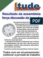 Jornada de Trabalho Nestlé/Garoto - Acordo Coletivo 2011/2013