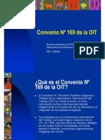 Presentacion Convenio 169 de La OIT