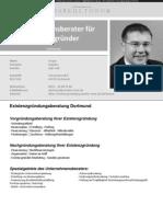 Unternehmensberater Dortmund | Existenzgründung - Existenzgründer | Unternehmensberatung MARKUS TONN ®