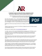 AR Hedge Fund Billion Dollar Club October 2011