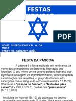 FESTAS JUDAICAS SHERON