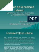 Alcances de La Ecología Urbana Miercoles