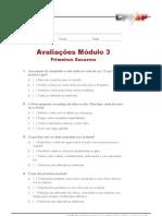 Avaliação Modulo 3