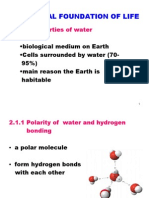 Chemical Foundation of Life (Student's Version)