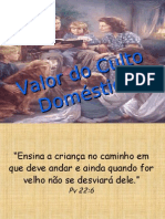 Valor Do Culto Doméstico
