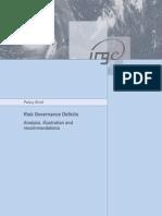 IRGC_RiskGovernanceDeficits_PolicyBrief2010