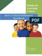 Back to School Skills Buster Workbook