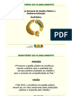 SEGES (MPOG) Interoperabilidade