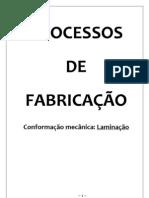 Processo de Laminação - processos de fabricação
