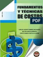 Fundamentos y Tecnicas de Costos