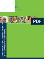 Dimensiones Del Envejecimiento y Su Expresion Territorial