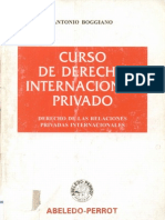 Boggiano, Antonio - Curso de Derecho Internacional Privado