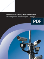 Dilemmas of Privacy and Surveillance Report