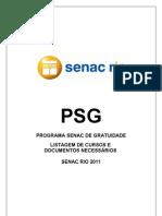 Catalogo Psg Senac Rio010511