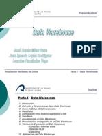 Data Warehouse - Data Mining - Final