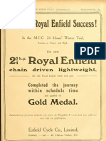 London to Exeter in a 1911 Royal Enfield