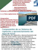 Componentes de un Sistema de captación y aprovechamiento (1)