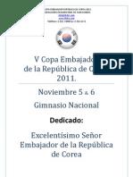 V Copa Embajador - FCT