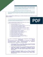 Documentos Fiscais ICMS