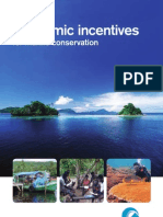 Economic Incentives for Marine Conservation
