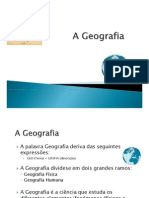 A Geografia 0