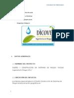 Estudio de Mercado-dicove Ingenieria en Riegos -Ricardo Palacios p