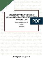 Herramientas Ofimaticas Aplicadas a Tareas Academic As Concretas1