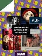 Programação SESC Ribeirão Outubro 2011