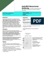 Anti-RFP (3F5) Monoclonal Antibody