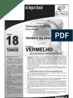 INSS_Prova_Cargo_NM_18_Caderno_Vermelho