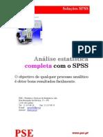 análise estatística completa com o spss