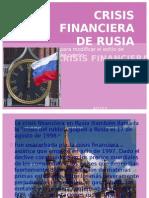 Crisis Financier A de Rusia