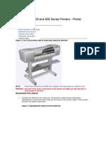 HP Designjet 500 and 800 Series Printers