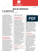 Anon - La Enfermedad de Alzheimer Y La Genetica