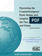 Puncturing the Counterinsurgency Myth