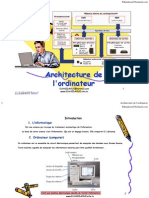 Architecture Ordinateur