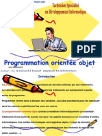 Program Mat Ion Orientee Objet
