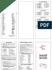 Genicom Impact Printers 3940IP & 3910IS Pocket User Guide