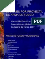 Lesiones Por Proyectil de Arma de Fuego Sin Fotos