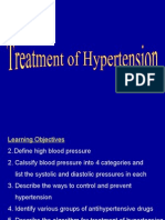 Lecture 17 - Treatment of Hypertension