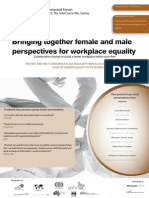 Bringing together female and male perspectives in professional services