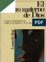 Boff, Leonardo - El Rostro Materno de Dios