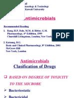 Pharma - 4th Asessment - Penicillin & Cephalosporins - 2007