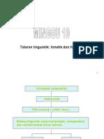 Fonetik and Fonologi