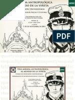 Cartel Curso Antropologia y Comic